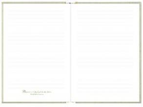 Großes Einschreibbuch - Tagebuch