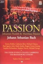 , Johann Sebastian Bach  -  Matthaus Passion Johannes Passion (2 dvd)