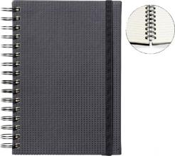 , Notitieboek Quantore A5 spiraal tab zwart