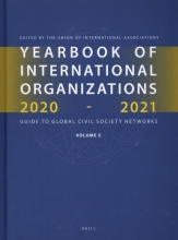 , Yearbook of International Organizations 2020-2021, Volume 5