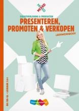 Inge Berg , Presenteren, promoten en verkopen vmbo Leerwerkboek