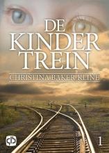 Christina  Baker-Kline De kindertrein - grote letter uitgave