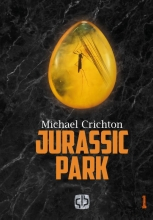 Michael  Crichton Jurassic Park - grote letter uitgave