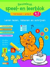 Reuzeleuk speel- en leerblok  leren lezen, rekenen en schrijven 6-7 jaar