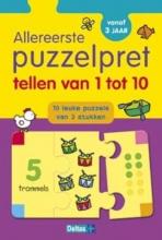 ZNU Allereerste puzzelpret - Tellen van 1 tot 10