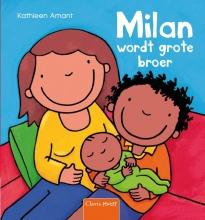 Kathleen  Amant Milan wordt grote broer