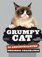 Grumpy Cat - 30 ansichtkaarten - Oneindig chagrijnig
