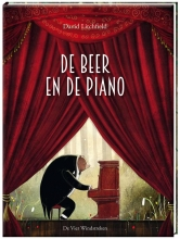 David  Litchfield De beer en de piano