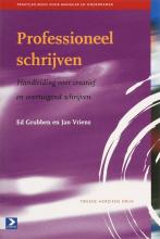 Jacques Vriens E. Grubben, Professioneel schrijven