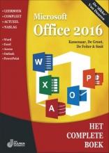 Ronald Smit Peter Kassenaar  Wim de Groot  Wilfred de Feiter, Het Complete Boek Office 2016