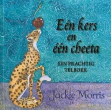 Jackie  Morris Eén kers en één cheeta