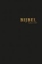 , Bijbel (HSV) met psalmen - hardcover zwart