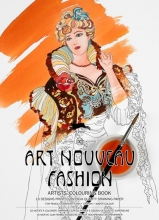 Pepin van Roojen Art Nouveau Fashion - Artists` Colouring Book