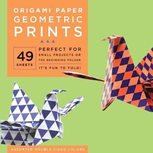 Tuttle Publishing,Origami Paper Geometric Prints