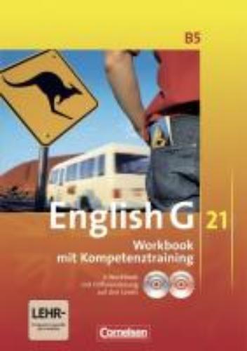 Seidl, Jennifer,   Schwarz, Hellmut,English G 21. Ausgabe B 5. Workbook mit CD-ROM (e-Workbook) und Audios online