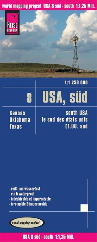 ,World Mapping Project USA 08 Süd 1 : 1 250 000