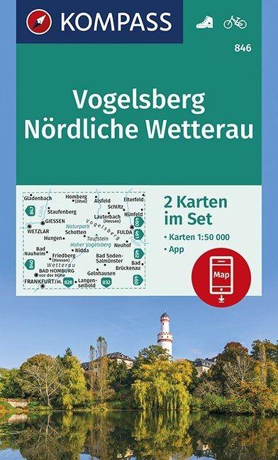 ,Vogelsberg, Nördliche Wetterau 1:50 000