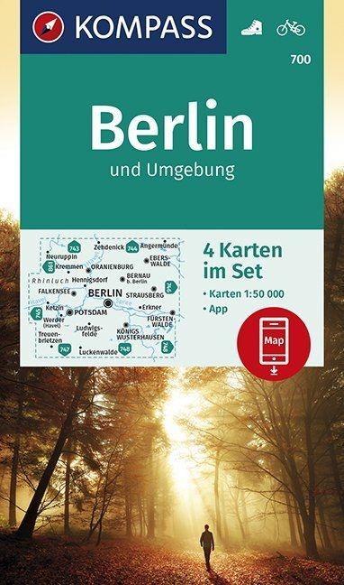 ,Berlin und Umgebung 1:50 000