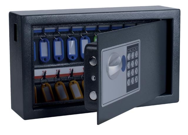 ,Sleutelkast Pavo high security 20 haken 205x347x147mm