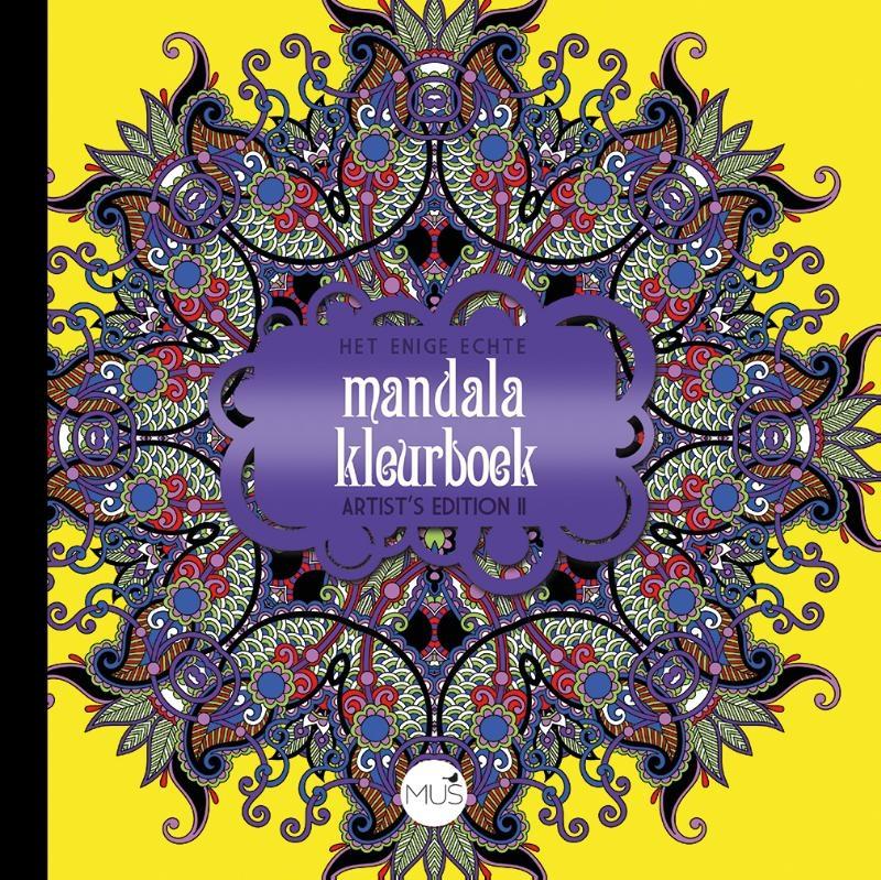 ,Het enige echte mandala kleurboek Artist Edition II