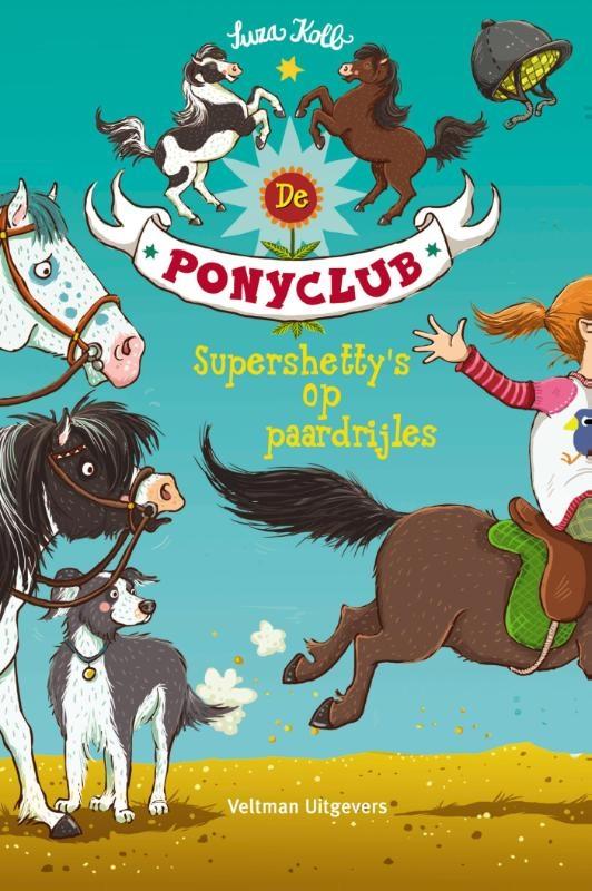 Suza Kolb,Supershetty`s op paardrijles