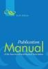 American Psychological Association,Publication Manual of the American Psychological Association