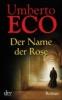 Eco, Umberto,Der Name der Rose