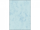 ,structuurdesign Sigel A4 200grs pak a 50 vel marmer blauw
