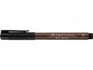 Fc-167469 ,Faber-Castell Tekenstift Pitt Artist Pen Brush Caput Mortuum 169