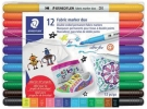 ,<b>Viltstift Staedtler 3190 textiel duo ass</b>