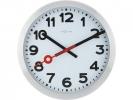 ,Wandklok NeXtime dia. 35 cm, geborsteld aluminium, `Station`