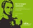 Guy  Janssens, Rik  Vosters,Sur la langue nationale + cd rom