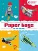 ,Paper Toys In de lucht