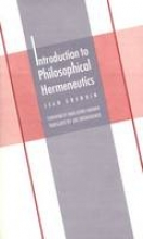 Grondin, Jean Introduction to Philosophical Hermeneutics (Paper)