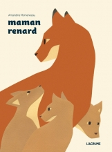 Momenceau, Amandine Mother Fox and Her Cubs