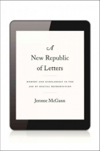 McGann, Jerome New Republic of Letters