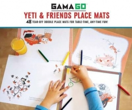 Gamago Yeti & Friends Place Mats