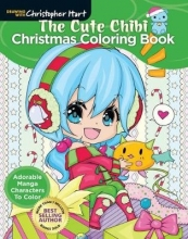 Christopher Hart The Cute Chibi Christmas Coloring Book