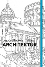 Leporello Ausmalbuch Architektur