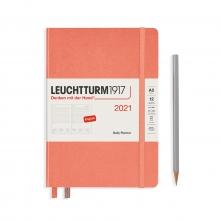 Lt 362095 , Leuchtturm agenda 2021 a5 1 dag pp bellini oranje