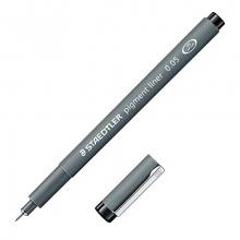 , Fineliner Staedtler Pigment 308 zwart 0.05mm