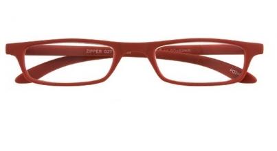 , Leesbril zipper 27100 rood 1.00