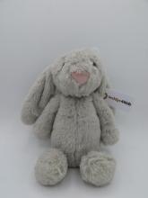 , Rabbit grijs - knuffel - pluche
