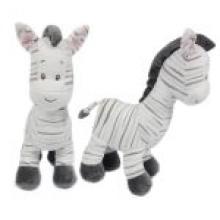 , Knuffel pluche zebra 33cm