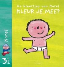 Liesbet  Slegers Kleur je mee? set 2x5 exemplaren Karel & Kaatje kleurboeken (vanaf 3 jaar)