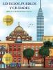 Garcia Santiago, Libro de colorear para chicas (Edificios, pueblos y ciudades)