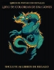 Garcia Santiago, Libros de pintar con detalles (Libro de colorear de dragones)