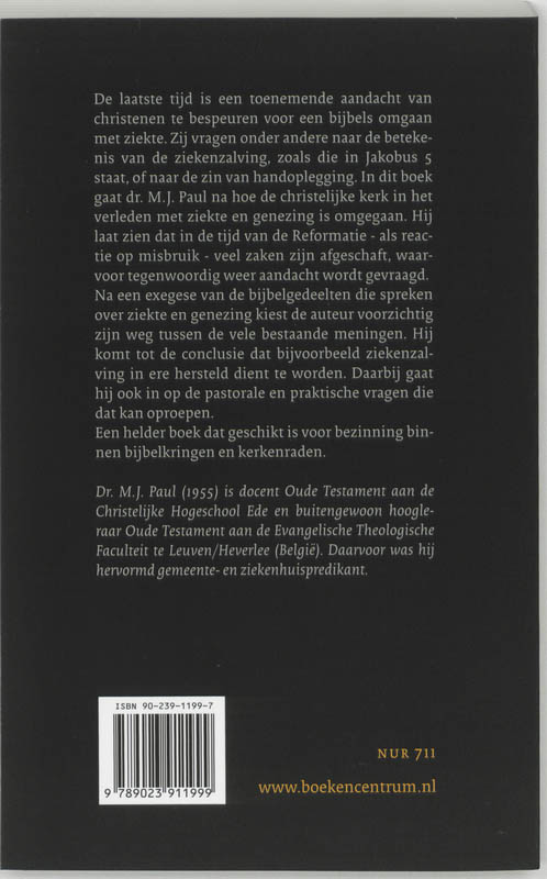 M.J. Paul,Vergeving en genezing