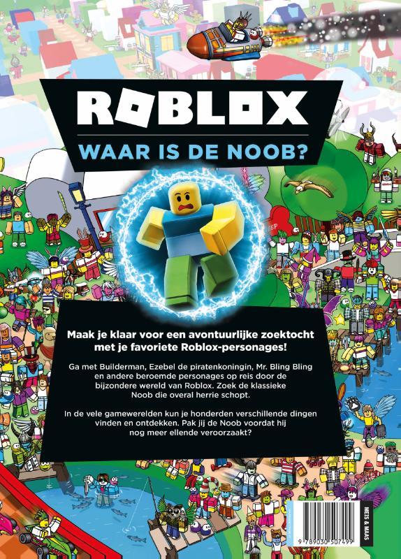 ,Roblox. Waar is de Noob?