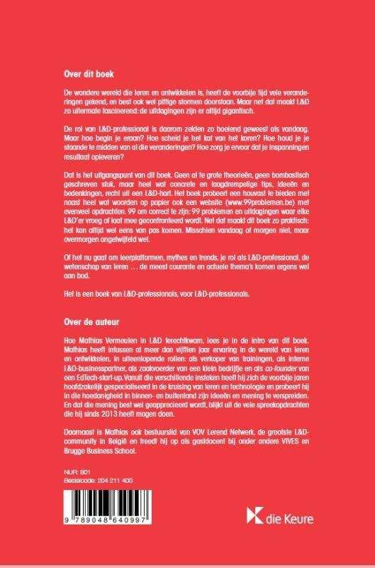Mathias Vermeulen,99 problemen en L&D is er (g)een van